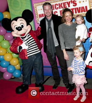 Eric Dane, Rebecca Gayheart, Georgia Dane and Billie Beatrice Dane