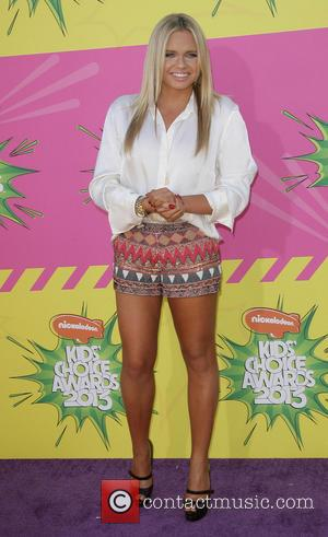 Alli Simpson - Nickelodeon's 26th Annual Kids' Choice Awards at USC Galen Center - Arrivals - Los Angeles, California, United...