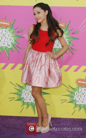 Ariana Grande - Nickelodeon's 26th Annual Kids' Choice Awards at USC Galen Center - Arrivals - Los Angeles, California, United...