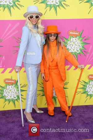 Kesha and Brother Louie Sebert