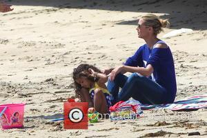 Heidi Klum and Malibu Beach