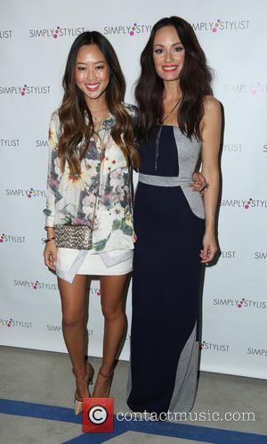 Catt Sadler and Aimee Song