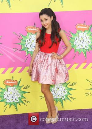Ariana Grande - Nickelodeon's 26th Annual Kids' Choice Awards - Los Angeles, California, United States - Saturday 23rd March 2013