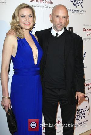 Elaine Hendrix and Moby