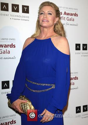 Shannon Tweed - The Humane Society's 2013 Genesis Awards Benefit Gala at The Beverly Hilton Hotel - Arrivals - Los...