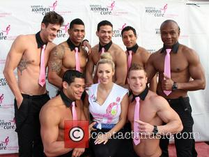 Jordan Carver - Susan G. Komen's Race for the Cure at Dodger's Stadium - Los Angeles, CA, United States -...