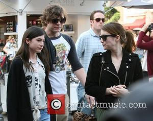 Emma Roberts, Evan Peters and Grace Nickels