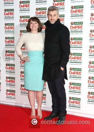 Jo Hartley and Terry Mynott - Jameson Empire Film Awards held at Grosvenor House - Arrivals - London, United Kingdom...