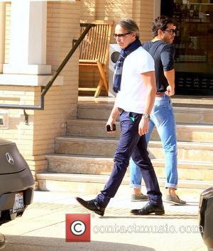 Lloyd Klein - Lloyd Klein leaving Barney's New York in Beverly Hills - Los Angeles, California, United States - Sunday...