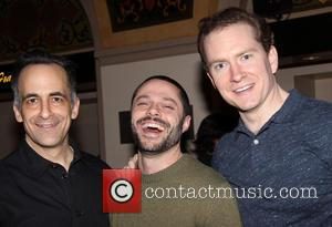 David Pittu, Joshua Bergasse and Adam Monley