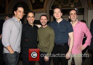 Will Swenson, David Pittu, Joshua Bergasse, Adam Monley and Rob Berman