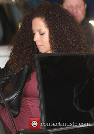 Natalie Gumede - Celebrities at the ITV studios - London, United Kingdom - Monday 25th March 2013