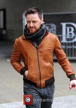 James McAvoy - James McAvoy at the BBC Radio 1 studios - London, United Kingdom - Monday 25th March 2013
