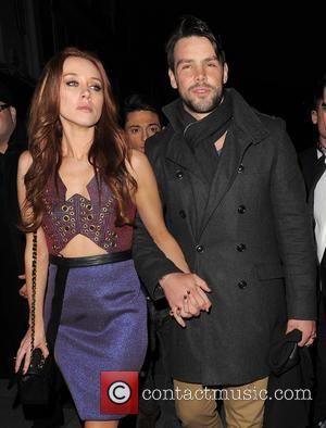 Una Healy and Ben Foden - Una Healy from girl group The Saturdays enjoys a night out at Amika nightclub...