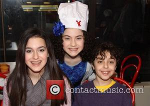 Allie Drier, Lilla Crawford and Alex Drier - Annie star, Lilla Crawford's 12th Birthday Party held at the Cake Boss...
