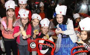 Bailey Ryon, Jack Broderick, Sophia Gennusa, Milly Shapiro, Lilla Crawford and Oona Laurence - Annie star, Lilla Crawford's 12th Birthday...