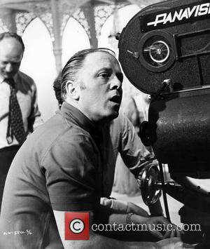 Richard Attenborough - Shown on the set: director Richard Attenborough - Tuesday 26th March 2013