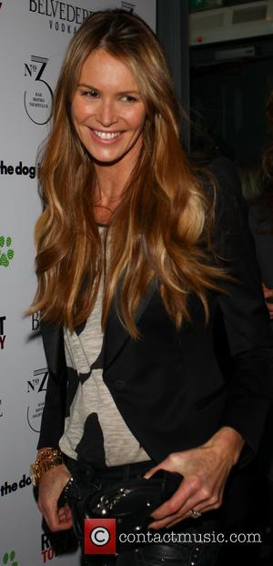 Elle MacPherson - 'Barry the Dog' fundraiser - Inside Arrivals - London, United Kingdom - Tuesday 26th March 2013