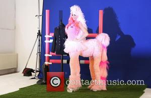 My Little Promo: Katie Prices Dresses Up As Pink Pony For KP Equestrian Launch (Pictures)