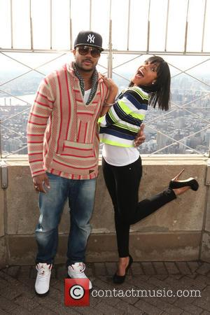 Wendy Raquel Robinson and Hosea Chanchez - 'The Game' stars Wendy Raquel Robinson and  Hosea Chanchez attend a promotional...