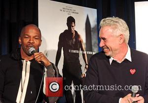 Jamie Foxx and Roland Emmerich