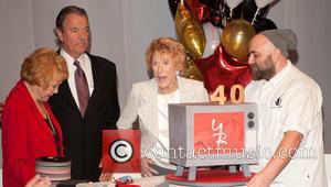 Jeanne Cooper, Eric Braeden and Duff Goldman
