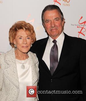 Jeanne Cooper and Eric Braeden