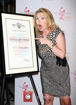 Melody Thomas Scott - 40th anniversary of 'The Young & The Restless' held at the CBS Television City - Los...
