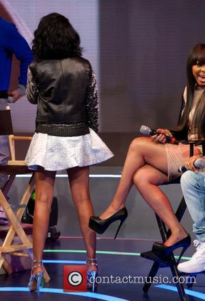 Brandy Norwood - 106 & Park welcomes the cast of BET's hit series THE GAME, LIVE on set on Broadway...
