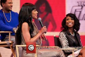 Wendy Raquel Robinson and Brandy Norwood - 106 & Park welcomes the cast of BET's hit series THE GAME, LIVE...
