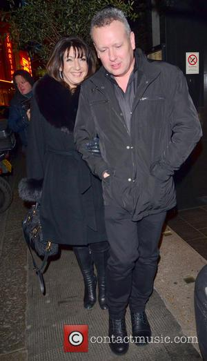 Jane McDonald - Celebrities on a night out at The Ivy Restaurant - London, United Kingdom - Tuesday 26th March...