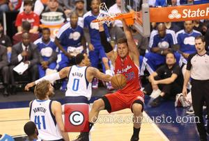 Los Angeles Clippers forward Blake Griffin - Los Angeles Clippers verses Dallas Mavericks the NBA basketball game in Dallas. The...