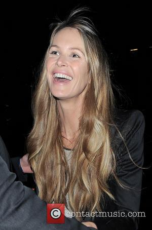 Elle Macpherson - Elle Macpherson at The Right To Play private dinner for Barry the Dog fitness trainer ahead of...