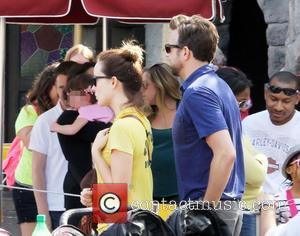 Olivia Wilde and Jason Sudeikis - Newly-engaged Olivia Wilde and Jason Sudeikis enjoy the day at Disneyland. The couple seemed...