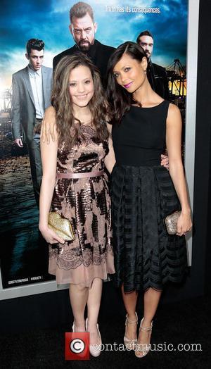 Thandie Newton and Sarah Jeffrey