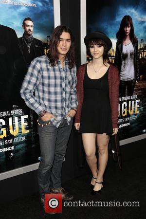 Boo Boo Stewart and Fivel Stewart - Los Angeles Premiere of 'Rogue' at Arclight cinemas - Los Angeles, California, United...