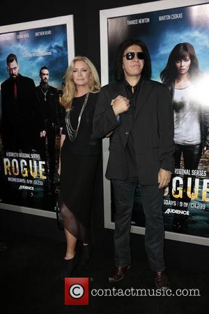 Shannon Tweed and Gene Simmons - Los Angeles Premiere of 'Rogue' at Arclight cinemas - Los Angeles, California, United States...