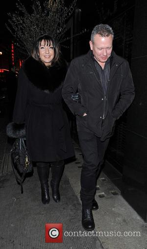 Jane McDonald at the Ivy Club with a male companion - London, United Kingdom - Tuesday 26th March 2013
