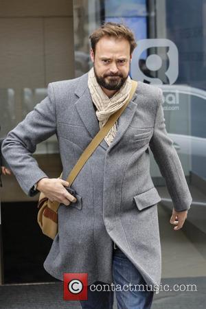Jamie Theakston - Jamie Theakston leaving Capital Radio Leicester Square - London, United Kingdom - Wednesday 27th March 2013
