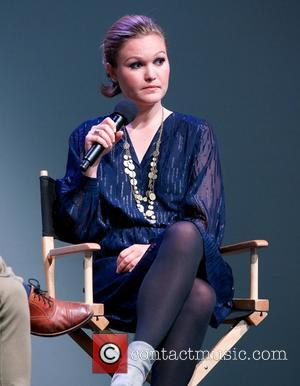 Julia Stiles - Actress Julia Stiles attends a press conference for her upcoming movie 'It's A Disaster' at the Apple...