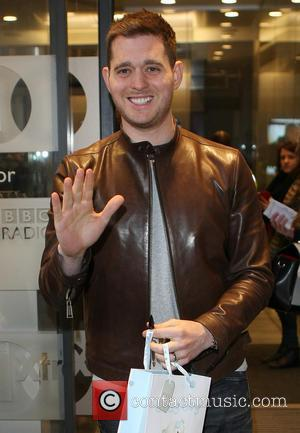 Michael Buble - Celebrities at the BBC Radio 1 studios - London, United Kingdom - Wednesday 27th March 2013
