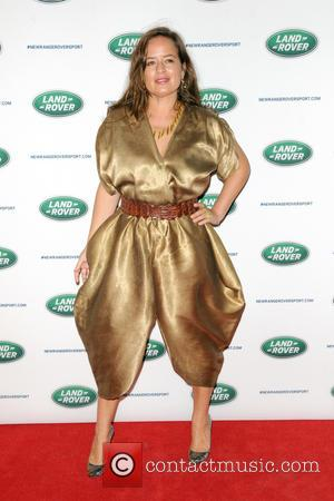 Jade Jagger - The Range Rover Sport world unveiling at the 2013 New York Auto Show at Skylight at Moynihan...