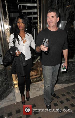 Simon Cowell and Sinitta