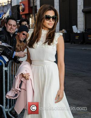 Eva Mendes - Eva Mendes arrives for an appearance on 'The Daily Show With Jon Stewart' - New York City,...