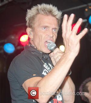Billy Idol - Musicians come together for the 'Rock Against MS' event, held at Whiskey A Go-Go in Hollywood -...