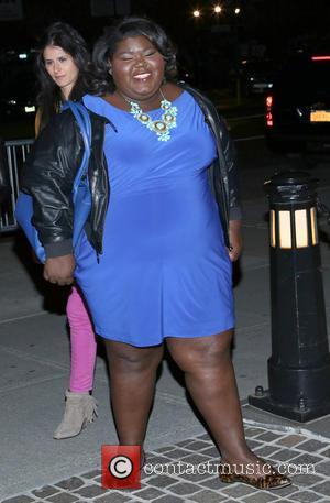 Gabourey Sidibe - The Cinema Society and Jaeger-LeCoultre screening of Open Road Films' 'The Host' at Tribeca Grand Hotel -...