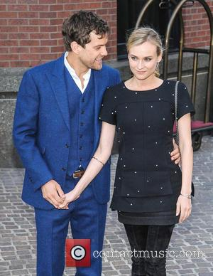 Joshua Jackson and DIane Kruger - The Cinema Society and Jaeger-LeCoultre screening of Open Road Films' 'The Host' at Tribeca...