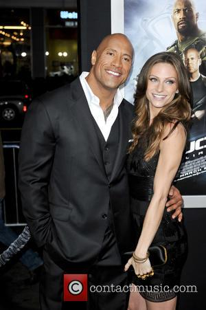 Dwayne Johnson , Lauren Hashian - G.I. Joe: Retaliation LA premiere, held at the Grauman's Chinese Theatre - Arrivals at...