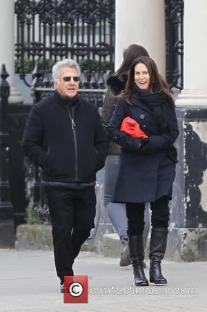 Dustin Hoffman and Lisa Hoffman - Dustin Hoffman and wife Lisa seen walking in West London - London, United Kingdom...