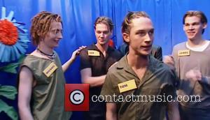 Tom Hardy - A young Tom Hardy wins a model contest on 'The Big Breakfast', back in 1998 - London,...